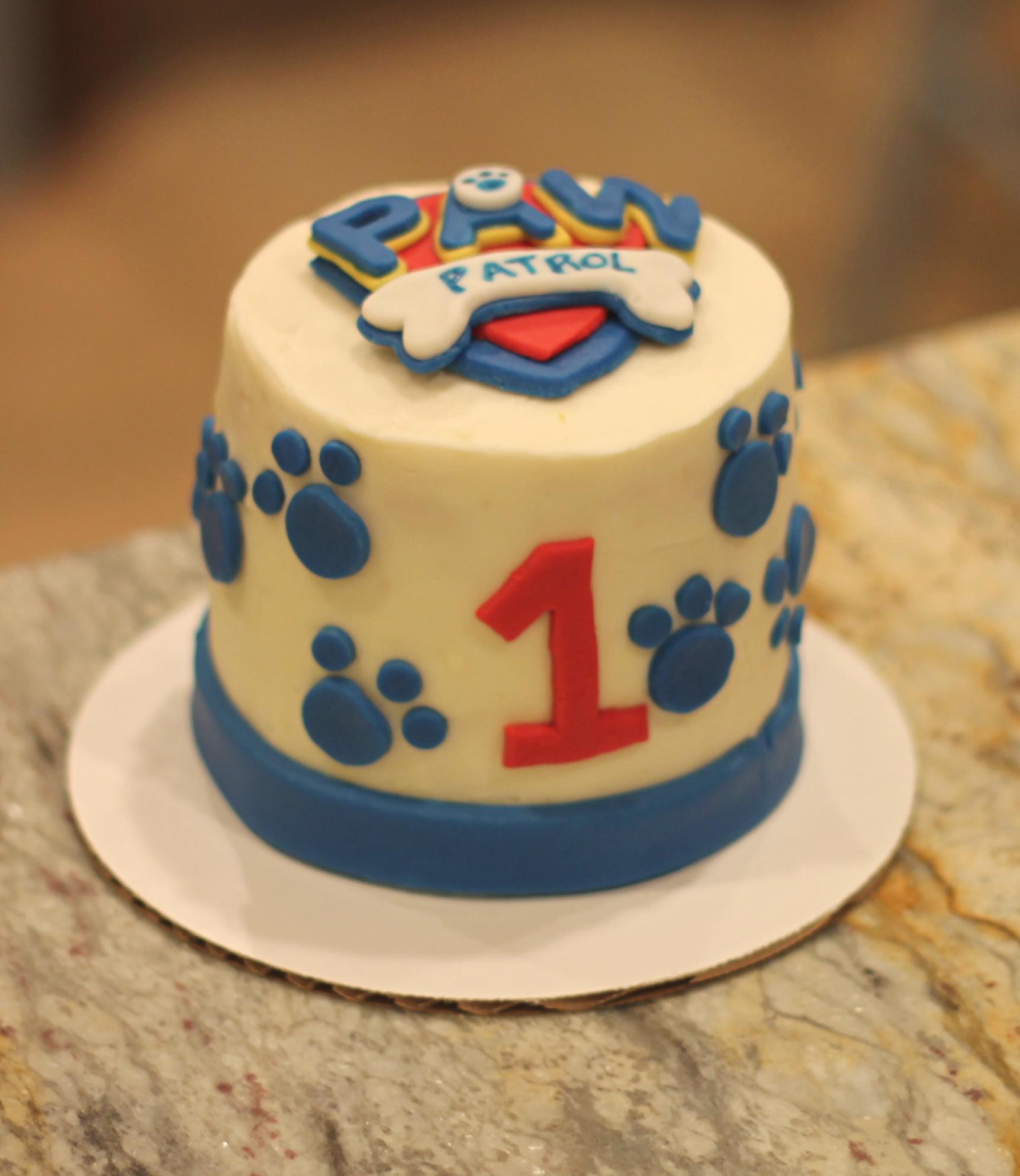 Paw Patrol Cookie Cake